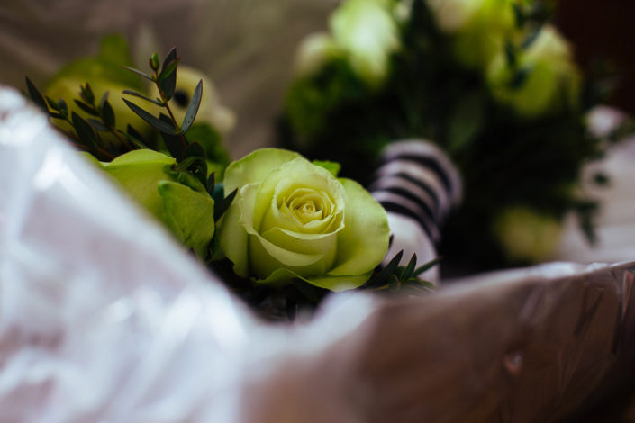 Bouquet de la mariée. Mariage sur le thème Black&White.